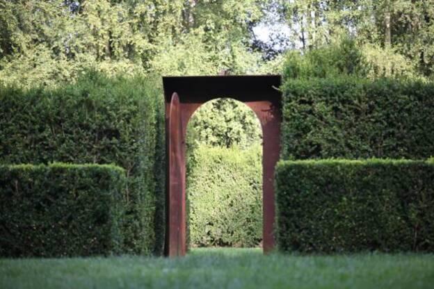 Le jardin des sculptures - Chateau de Bois-Guilbert